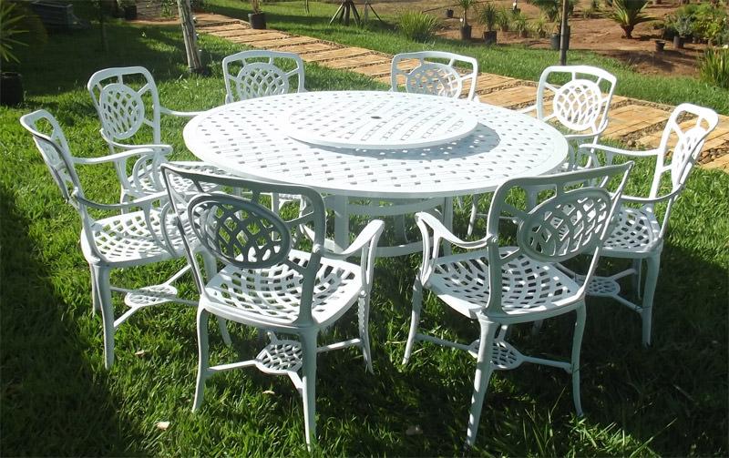 mesa jardim promocao:Início / Conjunto De Mesa / Conjunto Havana De Alumínio Fundido