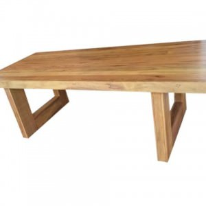 Mesa em U Pé Vazado
